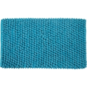 Saffron Fabs Bubbles 34 x 21 Bath Rug