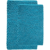 Saffron Fabs Bubbles 50 x 30 Bath Rug