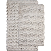 Saffron Fabs Bubbles 2 Pc. Bath Rug Set