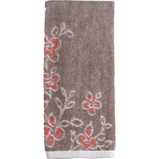 Saturday Knight Coral Garden Floral Hand Towel