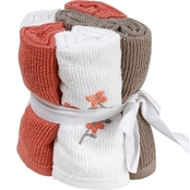 Saturday Knight Coral Garden Washcloths, 6 pc. Set