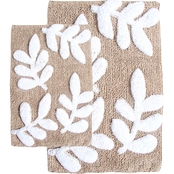 Chesapeake Monte Carlo 2Pc. Sage & White Bath Rug Set 35140 (21