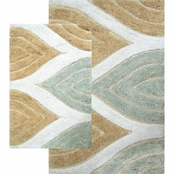 Chesapeake Davenport 2 Pc. Bath Rug Set (21x34 & 24x40)