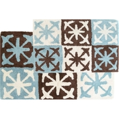 Chesapeake Columbia Bath Rug 2 pc. Set