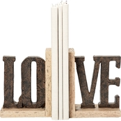Roman LOVE Bookends