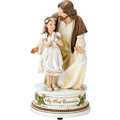 Joseph's Studio Girl With Jesus Music Box
