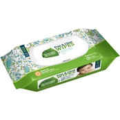 Seventh Generation Free & Clear Baby Wipes Widget, 64 ct.
