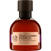 The Body Shop Spa of the World French Lavender Massage Oil 5.7 oz.