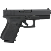 Glock 19 Gen 3 9MM 4.02 in. Barrel 10 Rds 2-Mags Pistol Black