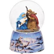 Roman Musical Nativity Waterglobe