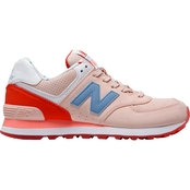 New Balance Womens WL574BWB Athleisure Shoes