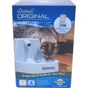 PetSafe Drinkwell Original Pet Fountain with Bonus 50 oz. Reservoir