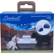 PetSafe Single Cell Replacement Filters for Pet Water Fountains 4 Pk.