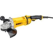 DeWalt 9 in. 6,500 rpm 4.7 HP Angle Grinder No-Lk