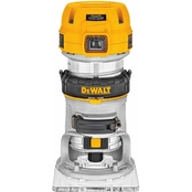 DeWalt 1-1/4 HP Max Torque Variable Speed Compact Router with LED's