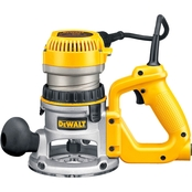 DeWalt 2-1/4 HP (maximum motor HP) EVS D-Handle Router with Soft Start