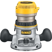 DeWalt 2-1/4 HP (maximum motor HP) EVS Fixed Base Router with Soft Start