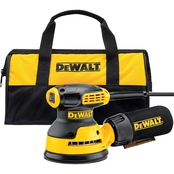 DeWalt 5 in. Single Speed Random Orbit Sander with Hook and Loop Pad