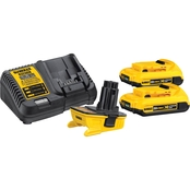 DeWalt 20V MAX* Battery Adapter Kit for 18V Tools