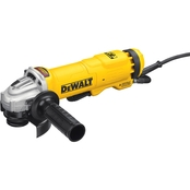 DeWalt 4.5 in. Small Angle Paddle Switch Angle Grinder with Brake and No-Lock On