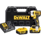 DeWalt 20V MAX* XR 1/4 in. 3 Speed Impact Driver Kit (4.0Ah)