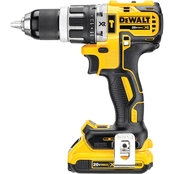 DeWalt 20V MAX* XR Lithium Ion Brushless Compact Hammerdrill Kit