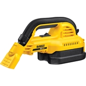 DeWalt 20V Max* 1/2 Gal. Wet/Dry Portable Vac Kit