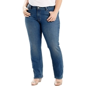 Levi's Plus Size 414 Relaxed Straight Jeans