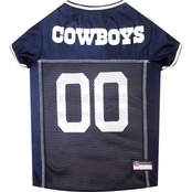 Pets First NFL Dallas Cowboys Team Jersey for Dogs