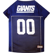 Pets First NFL New York Giants Team Jersey for Dogs
