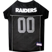 Pets First NFL Oakland Raiders Team Jersey for Dogs