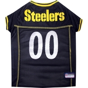 Pets First NFL Pittsburgh Steelers Team Jersey for Dogs