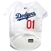 Pets First MLB Los Angeles Dodgers Team Jersey for Dogs