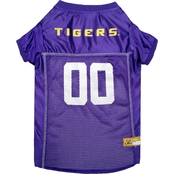 Pets First NCAA LSU Tigers Team Jersey for Dogs