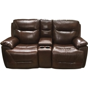 Bassett Epic Power Motion Loveseat with Console