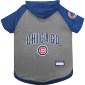 Pets First MLB Chicago Cubs Hoodie Tee