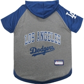Pets First MLB Los Angeles Dodgers Hoodie Tee