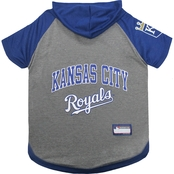 Pets First MLB Kansas City Royals Hoodie Tee