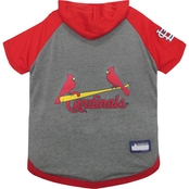 Pets First MLB St. Louis Cardinals Hoodie Tee