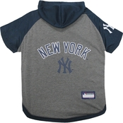 Pets First MLB New York Yankees Hoodie Tee