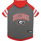 Pets First NCAA Georgia Bulldogs Hoodie Tee