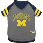 Pets First NCAA Michigan Wolverines Hoodie Tee