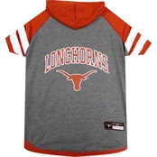 Pets First NCAA Texas Longhorns Hoodie Tee