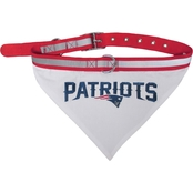 Pets First NFL New England Patriots Collar Bandana