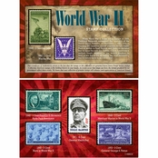 American Coin Treasures WW II Stamp Collection