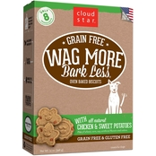 Cloud Star Wag More Bark Less Grain Free Treats, Chicken & Sweet Potatoes 14 Oz.