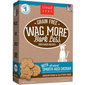 Cloud Star Wag More Bark Less Grain Free Treats, Smooth Aged Cheddar 14 Oz.