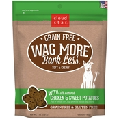 Cloud Star Wag More Bark Less Soft & Chewy Treats, Chicken & Sweet Potato 5 Oz.