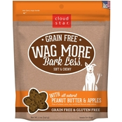 Cloud Star Wag More Bark Less Soft & Chewy Treats, Peanut Butter & Apples 5 Oz.