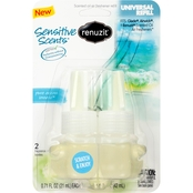 Renuzit Pure Ocean Breeze Scented Oil Refill 2 Pk.
